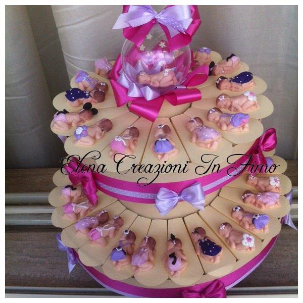 Torta bomboniere battesimo nascita bebè