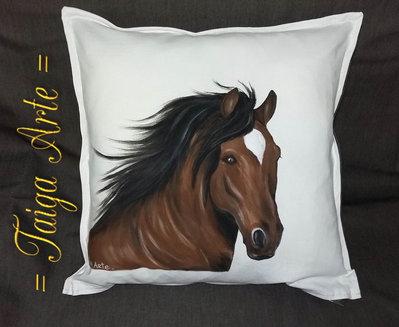 Cuscino con cavallo