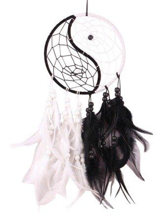 Acchiappasogni bianco e nero, -TAO- yin & yang