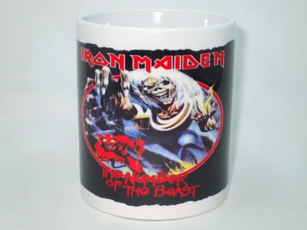 Tazza degli Iron Maiden
