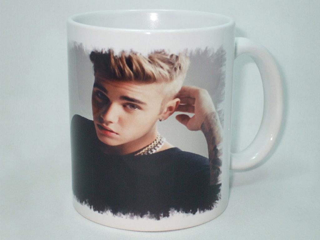 Tazza di Justin Bieber