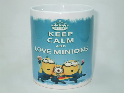 Tazza Keep Calm Minions