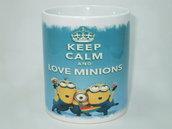 Tazza Keep Calm Minions