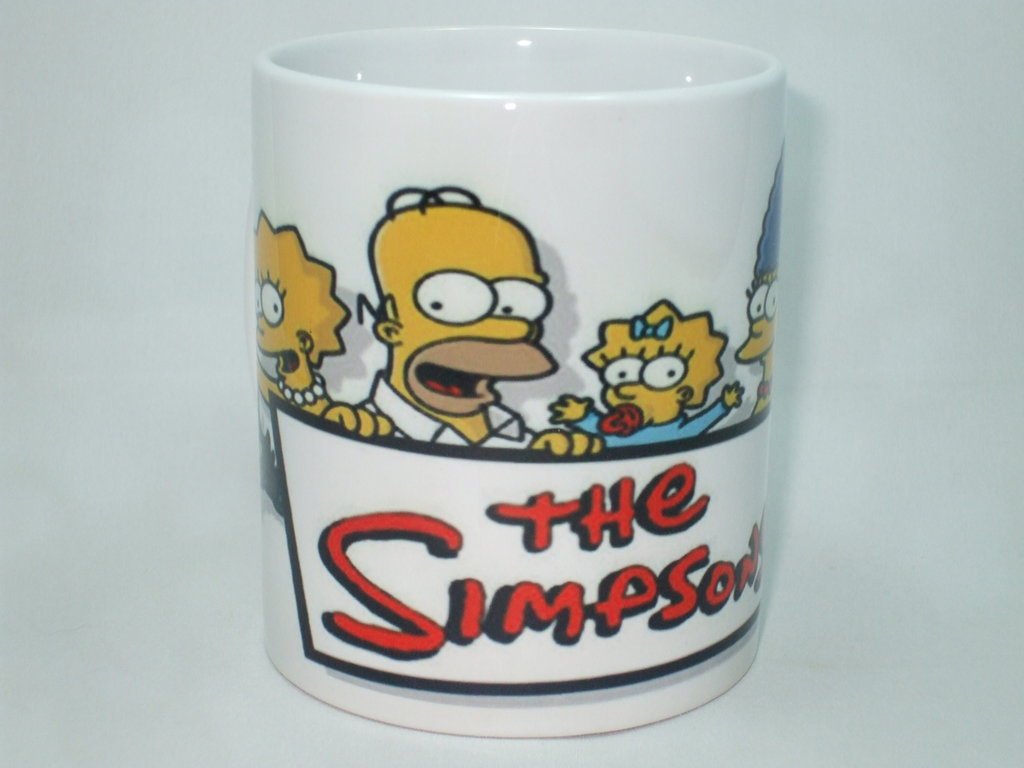 Tazza The Simpsons