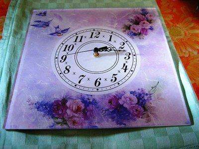 orologio in vetro