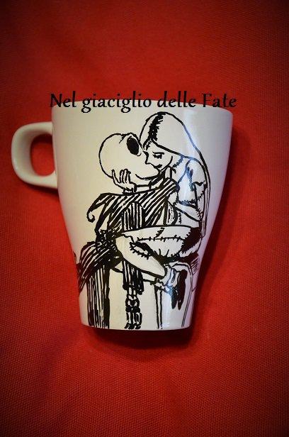 Taz013- Jack e Sally, Nightmare before Christmas bacio