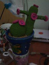 Decorazione: Vaso con cactus