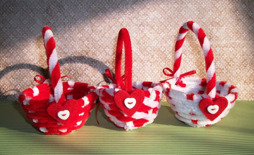San Valentino collection^^ - Cestini Peluches Porta Cioccolatini^^