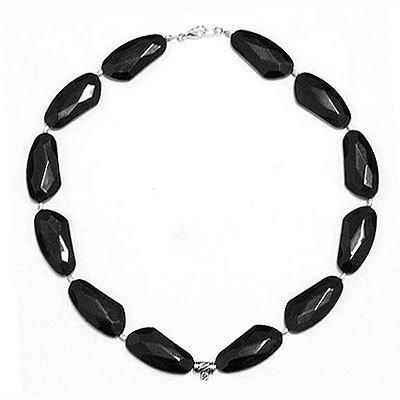 5 collane in perle acriliche nere - INSERZIONE PER MAISISTER BIJOUX