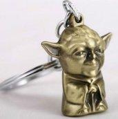 Portachiavi maestro Jedi Yoda di star wars-guerre stellari idea regalo