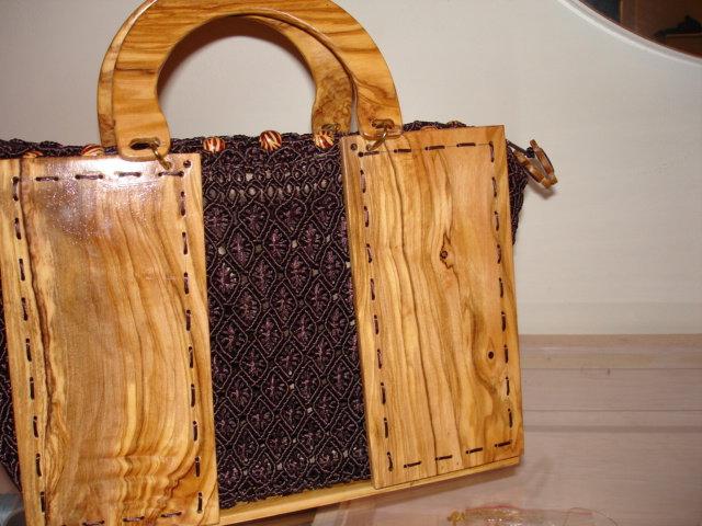 borse di legno