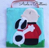 Quadretto Snoopy e Charlie