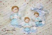 bomboniera angelo bimbo celeste battesimo nascita comunione cresima