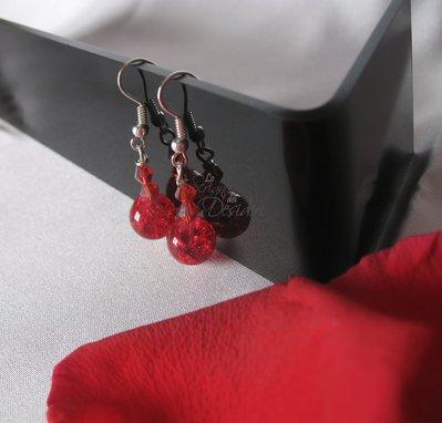 Orecchini Red Passion