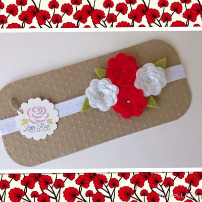 Fascia elastica per piccole e grandi by Little Rose Handmade