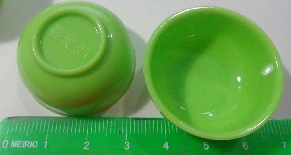 50% DI SCONTO - 2 Mini Ciotole in Plastica per Miniature