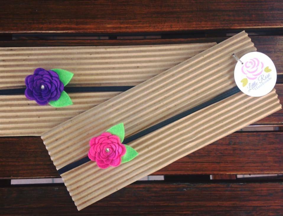 fascia elastica a rosellina by Little Rose Handmade