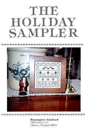 The Holiday Sampler - Schema Punto Croce Ramsgate Limited