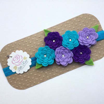 Fascia elastica a Roselline by Little Rose Handmade