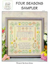 Four Season Sampler - Schema Punto Croce Rosewood Manor