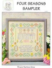 Four Season Sampler - Schema Punto Croce Rosewood Manor