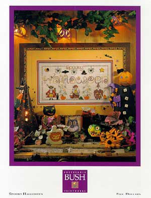 Spooky Halloween - Schema Punto Croce Shepherd's Bush