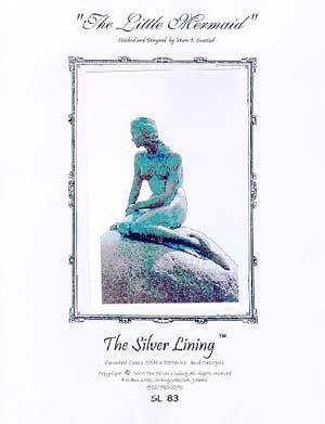 The Little Mermaid - La Sirenetta di Copenhagen - Schema punto croce The Silver Lining