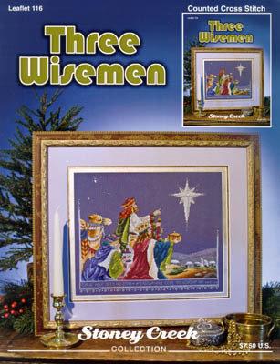 Three Wisemen - I Tre Re Magi - Schema PUnto Croce Stoney Creek