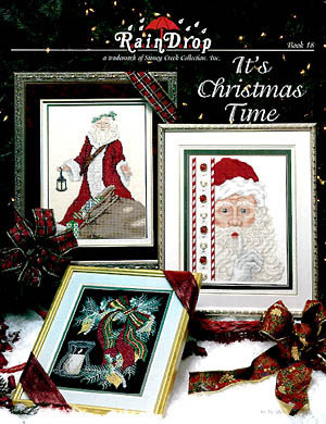 It's Christmas Time - 8 Schemi Punto Croce - Stoney Creek