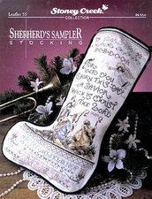 Shepherd's Sampler Stocking - Schema Punto Croce - Stoney Creek