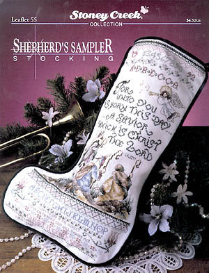 Shepherd's Sampler Stocking - Schema Punto Croce - Stoney Creek
