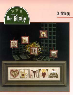 Cardiology - Schema Ricamo Punto Croce - The Trilogy