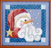 Snow-Ho-Ho - Schema Ricamo Punto Croce - Waxing Moon Designs