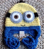 Cappello Minion uncinetto