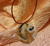 Ciondolo perlato elegante - Sole Africano
