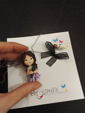 Collana Mini doll VIOLETTA