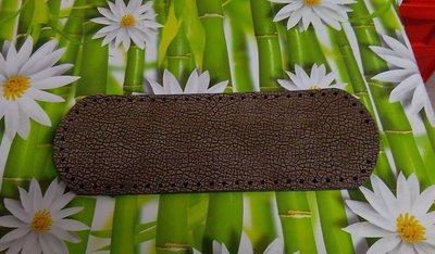 fondo ovale 12x36 marrone martellato