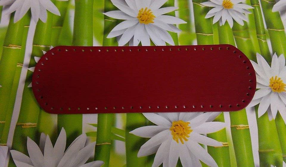 fondo ovale 12x36 rosso