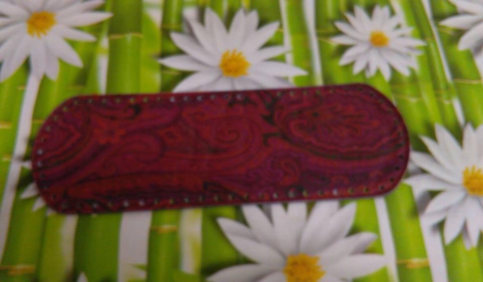 fondo ovale 12x36 cachemire rosso