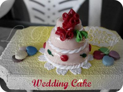 Segnaposto - Wedding Cake