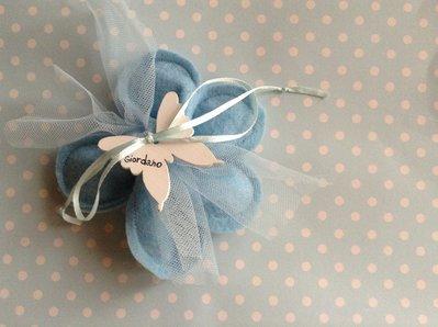 Bomboniera fiore porta confetti personalizzabile
