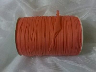 Rocca fettuccia nylon mandarino