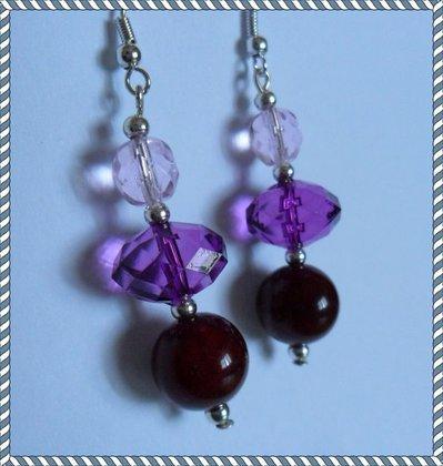 Orecchini 3 perle
