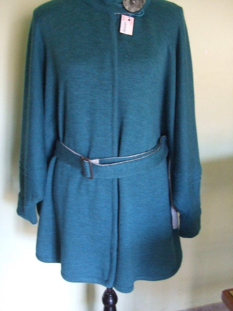 mantella poncio cappotto maglia donna