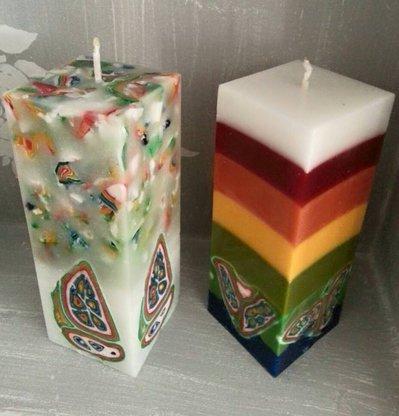 Candela UNIKA - Candela multicolore