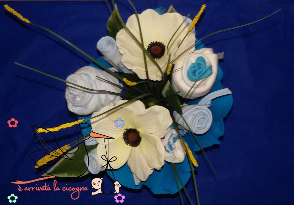 Baby bouquet neonato