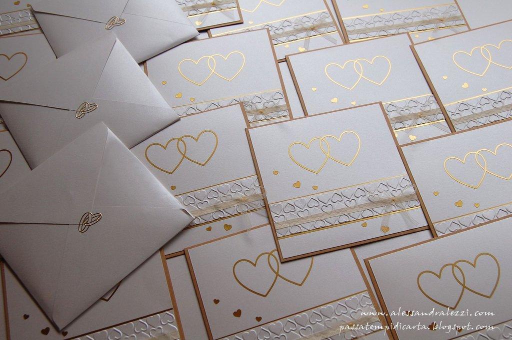 Partecipazioni matrimonio / nozze d'oro