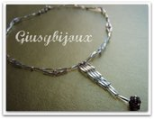 collier pendente swarovski