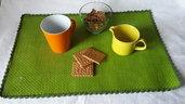 Tovaglietta colazione verde