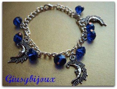 bracialle charms luna blu